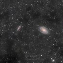 M81/M82 LRGB & faint IFN,                                Thomas