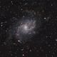 Messier 33,                                floreone