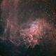 IC405 Flaming Star Nebula L Ha RGB,                                Станция Албирео