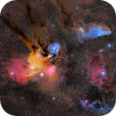 Rho Ophiuchi Cloud Complex Widefield Mosaic,                                Patrick Keller
