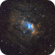 Bubble Nebula in SHO,                                Peter Komatović