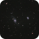 NGC 3718 - Arp 214 and NGC 3729,                                Uwe Deutermann