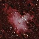 M 16 - Eagle Nebula,                                Ron