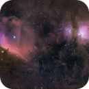 Barnard 33 and M42 - Wide field  Sadr Chile,                                Arnaud Peel