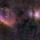 Barnard 33 and M42 - Wide field  Sadr Chile,                                Arnaud Peel