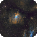 The Bubble, M52 and Northern Lagoon,                                JohnAdastra