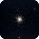 M13 blasted by the moon,                                Scotty Bishop