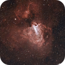 M17 Omega Nebula,                                TimothyTim