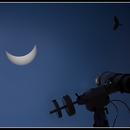 Setup sol. eclipse,                                Astro-Clochard