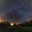 Winter Milky Way,                                Łukasz Żak