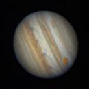 Jupiter rotation animation,                                morrienz