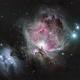 The Great Orion Nebula in LRGB,                                John Travis
