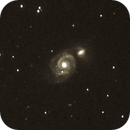 Whirlpool galaxy,                                amatzelle