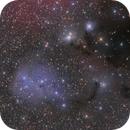 Dreyer's Nebula IC447, IC2169 and surrounding,                                T.Space