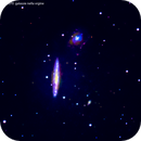 ngc5775      ngc 5774    ic1070  galassie nella vegine                            distanza  85 milioni  A.L.,                                Carlo Colombo