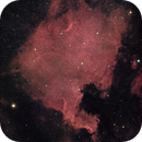 North America Nebula in (Ha) RGB.,                                Kapil K.