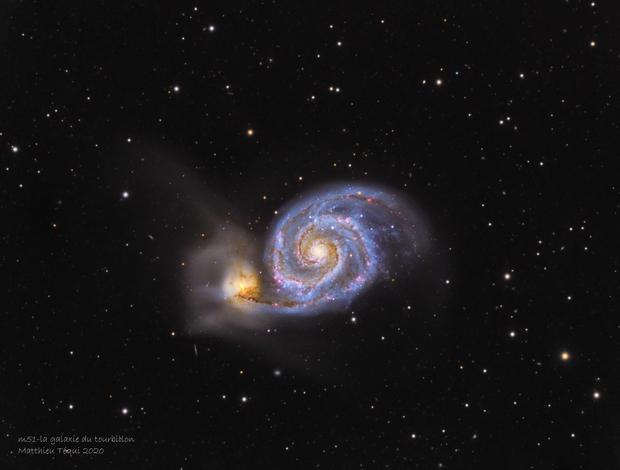 M51-la galaxie du tourbbillon,                                astromat89