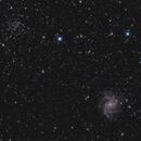 NGC 6946 feu d'artifice 6939,                                echosud