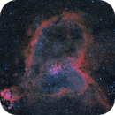 Heart nebula,                                John Sim