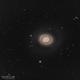 M 94 - The Croc Eye Galaxy,                                Wanda Conde