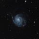M 101 Pinwheel galaxy,                                Marvaz