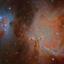 HDR M42 RGB+Ha,                                Alberto Pisabarro
