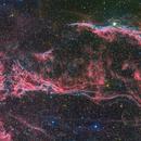 West Veil Nebula,                                Miles Zhou