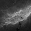 The California Nebula - central region in h-alpha,                                AstroKitty