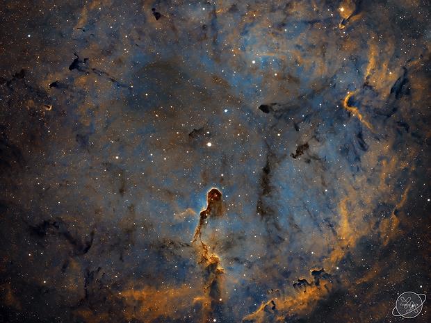 "IC 1396 - Elephant's Trunk Nebula (First light with Celestron RASA 8""),                                Yannick Akar"
