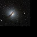 Galáxia Centaurus A,                                Irineu Felippe de Abreu Filho