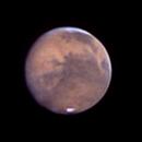 Mars in still air over Denver,                                Steve Lantz
