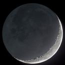 Falce di Luna in luce cinerea,                                Alessandro Speranza
