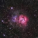 Trifid Nebula - Messier 20,                                Bruce Rohrlach