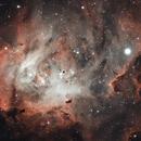 IC 2944 The Running Chicken Nebula,                                Carlos Taylor