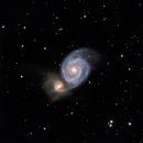 M51 Whirlpool Galaxy (2nd attempt),                                Timothy Prospero