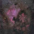 North America Nebula With Pelican - Pentax 300mm DA*,                                Mirko M