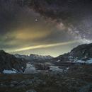 Milky way over the Black Lake,                                Davide De Col