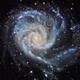 M101 LRGB+Ha,                                Mark Holbrook