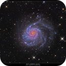 M101 or Pinwheel Galaxy ,                                Matej Mihelčič