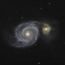 M51 june 2012,                                John D (jaddbd)