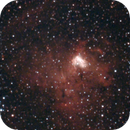 ngc1491 - combination of a 2005 ha image and a 2015 color image - V2 trying to improve,                                Stefano Ciapetti