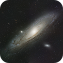 NGC 224 - M31 incomplete with Asteroid,                                Dagolaf
