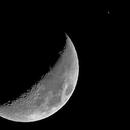 Conjunción luna - saturno,                                lukfer