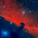 Barnard 33/IC 434 (The Horsehead Nebula)/NGC 2023,                                Zubeneschmali