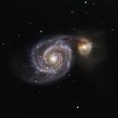 M51 - Whirlpool Galaxy,                                Dan Broyles