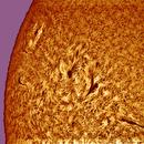 STYLIZATION  OF THE 11582 AND 11579 SOLAR SPOT GROUPS,                                Gabriel - Uranus7