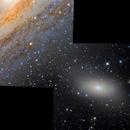 Stellar Bridge : M110 to M31,                                ItalianJobs