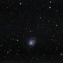 m101 Pinwheel galaxy,                                Nirvaein