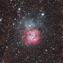 M8 & M20 - Lagune & Trifid Nebula,                                Simon Großlercher