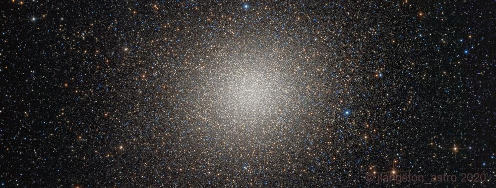 Omega Centauri NGC5139,                                jlangston_astro